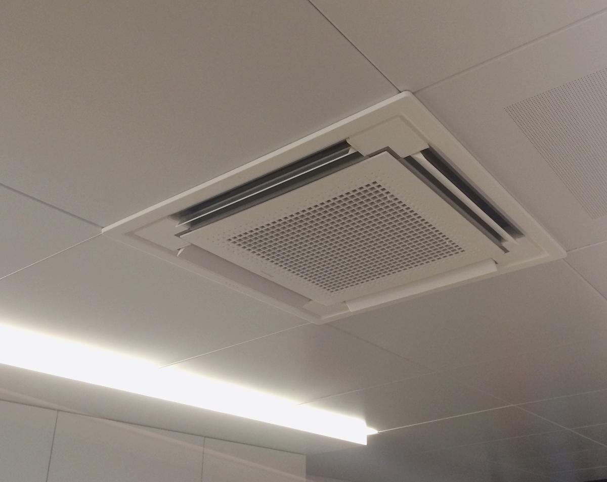 Warmtepomp En Ventilatie Restaurant Vm Technics